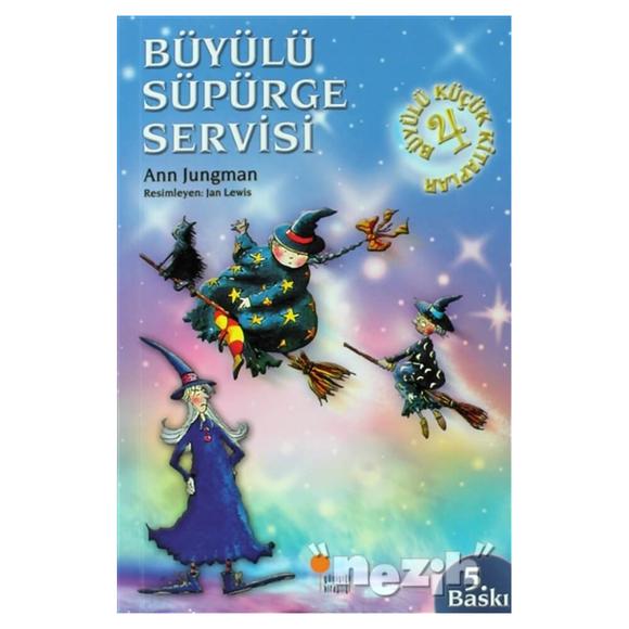 Büyülü Küçük Kitaplar - Büyülü Süpürge Servisi