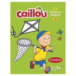 Caillou - İlk Boyama Kitabım 2 - Thumbnail