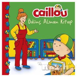 Caillou Ödünç Alınan Kitap - Thumbnail