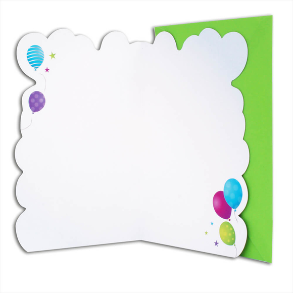 Card Group Tebrik Kartı Birthday Balloons 3663