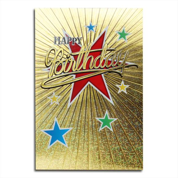 Card Group Tebrik Kartı Birthday Star 3771