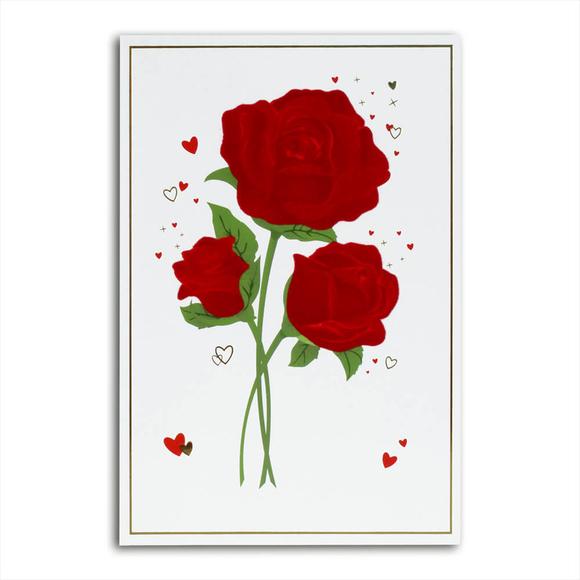 Card Group Tebrik Kartı Elegant Roses 3725
