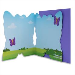 Card Group Tebrik Kartı Happy Butterfly 2304 - Thumbnail