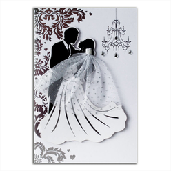 Card Group Tebrik Kartı Pretty Wedding 10097 - Thumbnail