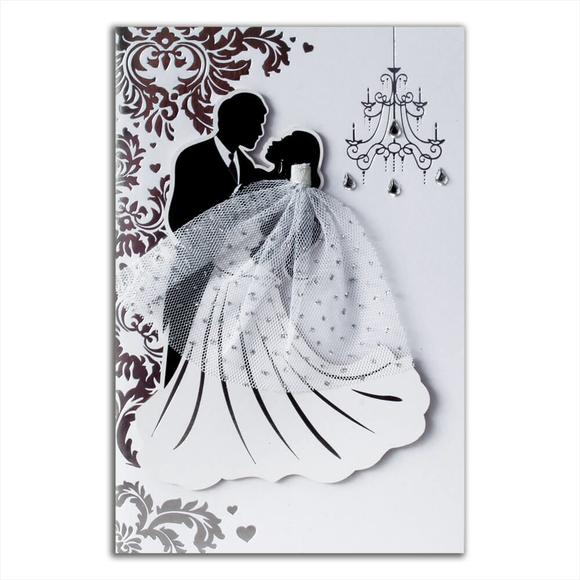 Card Group Tebrik Kartı Pretty Wedding 10097