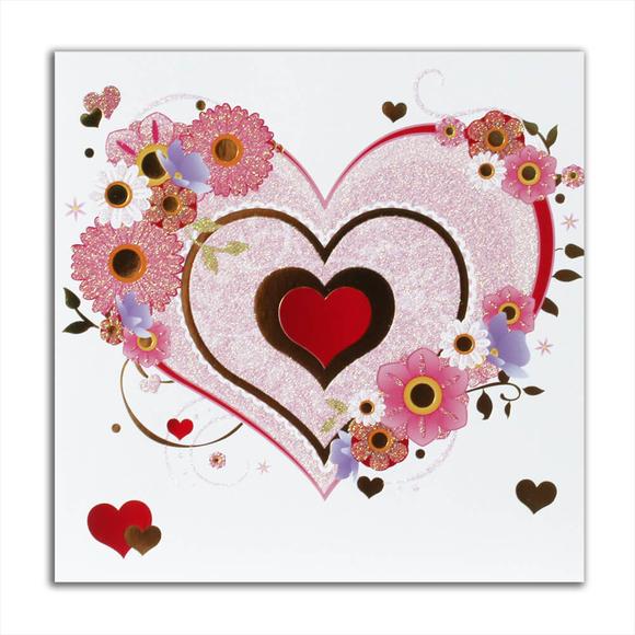 Card Group Tebrik Kartı Sparkly Heart 15002