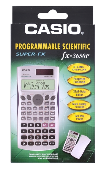 Casio Bilimsel Programlanabilir Hesap Makinesi FX-3650P
