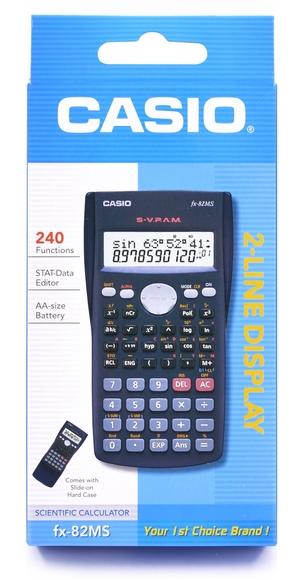 Casio Bilimsel Standart Model Hesap Makinesi FX-82MS