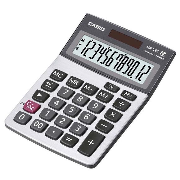 Casio Pratik Ekonomik Hesap Mekinesi MX-120S