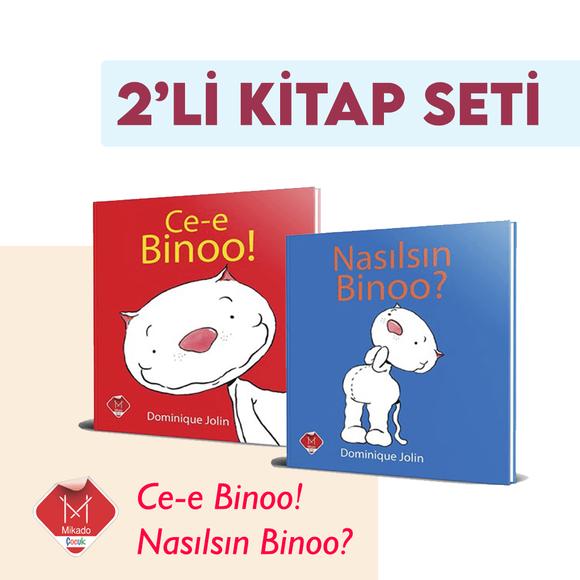 Ce-E Binoo! Nasılsın Binoo! 2 li Set Kampanya