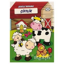 Çiftlik - Şekilli Boyama - Thumbnail