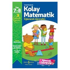 Çıkartmalarla Kolay Matematik 7-8 Yaş - Thumbnail