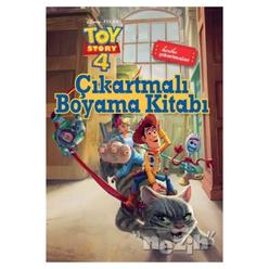 Çıkartmalı Boyama Kitabı - Toy Story 4 - Thumbnail