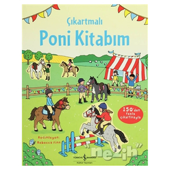 Çıkartmalı Poni Kitabım - Thumbnail