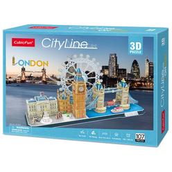 City Line London 3D Puzzle CUB/MC253H - Thumbnail