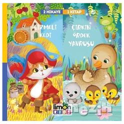 Çizmeli Kedi ve Çirkin Ördek Yavrusu - 2 Hikaye 1 Kitap - Thumbnail