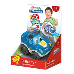 Clementoni Baby Polis Arabası 17179 - Thumbnail