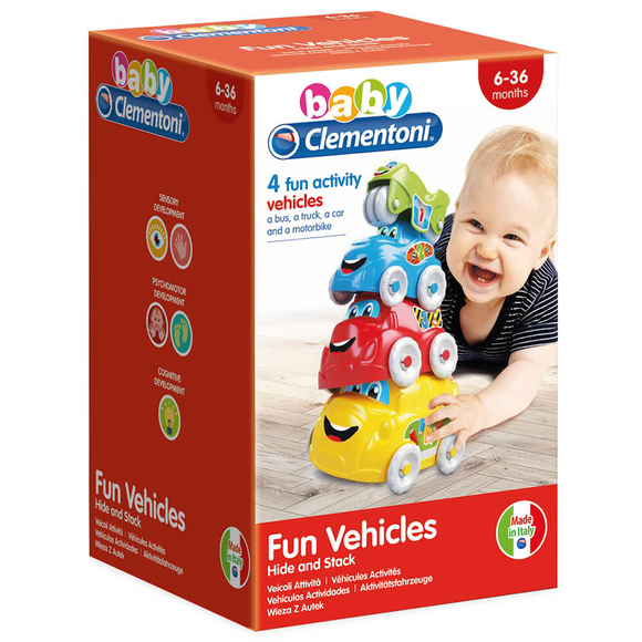 Clementoni Baby Renkli Araçlar 17111