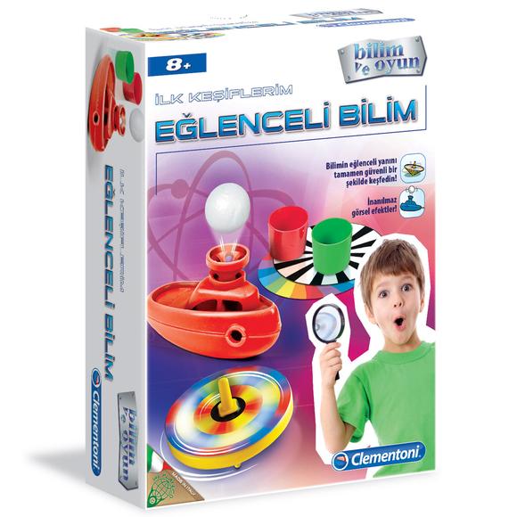 Clementoni İlk Keşif Seti Eğlenceli Bilim 64565