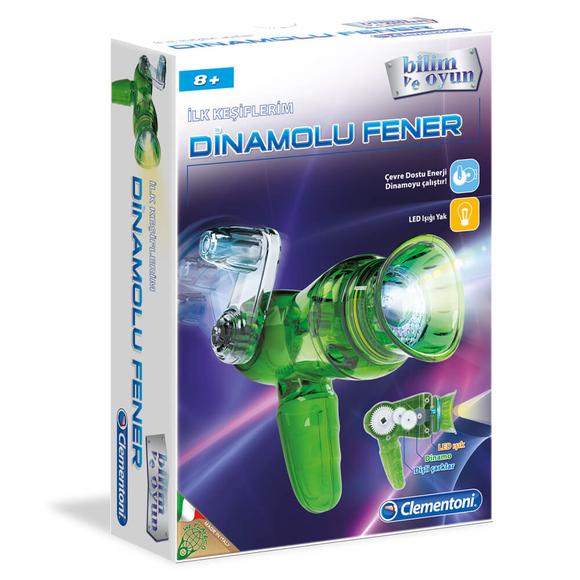 Clementoni İlk Keşiflerim Dinamolu Fener 64289