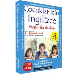 Çocuklar için İngilizce Kitap Serisi (4 Kitap Takım) - Thumbnail