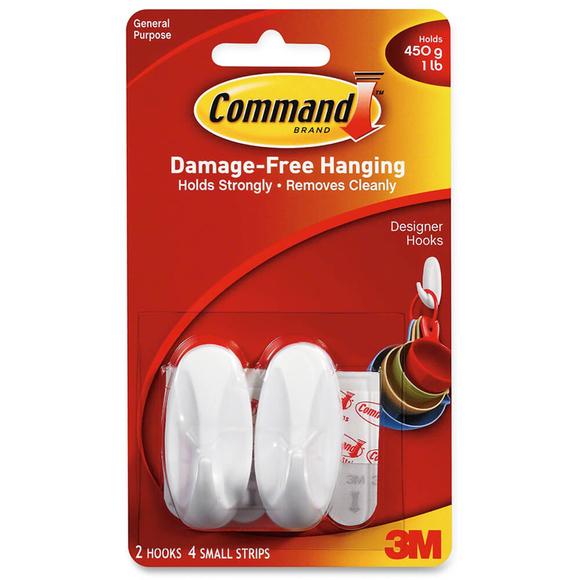 Command 2'li Küçük Boy Askı 17082
