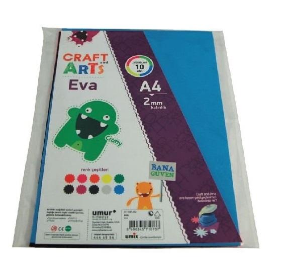 Craft and Arts A4 Eva 10'lu U1140