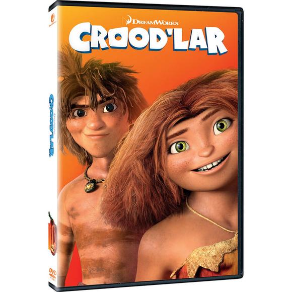 Croodlar - DVD