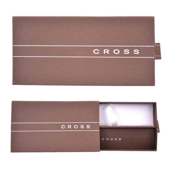 Cross Edge Roller Kalem Siyah Krom AT0555-2