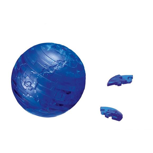 Crystal Puzzle 3D Dünya Mavi 40 Parça 90110