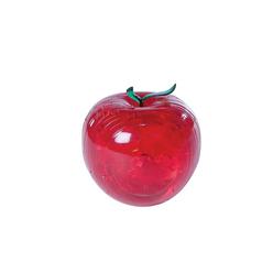 Crystal Puzzle 3D Elma Kırmızı 44 Parça 90005 - Thumbnail