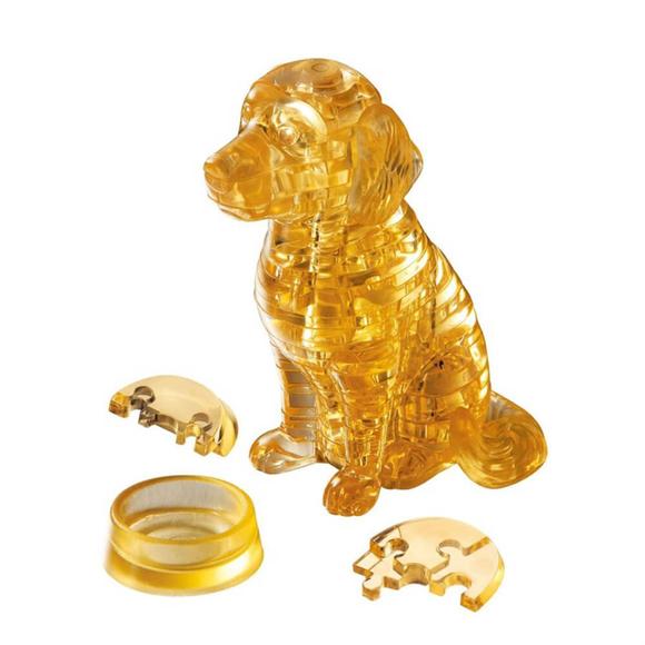 Crystal Puzzle 3D Golden Retriever 41 Parça 90118