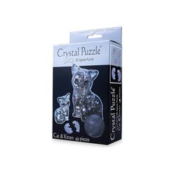 Crystal Puzzle 3D Kedi Ve Yavrusu 49 Parça 90126 - Thumbnail