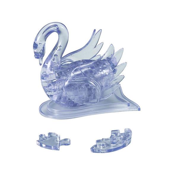 Crystal Puzzle 3D Kuğu 44 Parça 90001