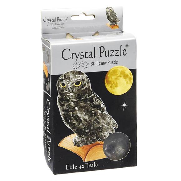 Crystal Puzzle 3D Siyah Baykuş 42 Parça 90247