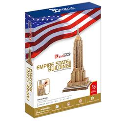 Cubic Fun 3D Puzzle Empire State Binası ABD MC048H - Thumbnail