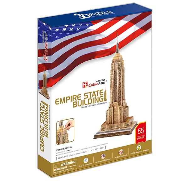 Cubic Fun 3D Puzzle Empire State Binası ABD MC048H