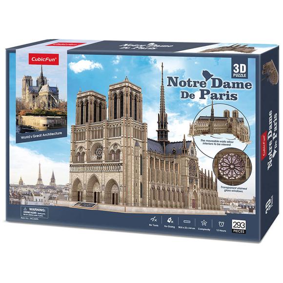 Cubic Fun 3D Puzzle Notre Dame De Paris CUB/MC260H