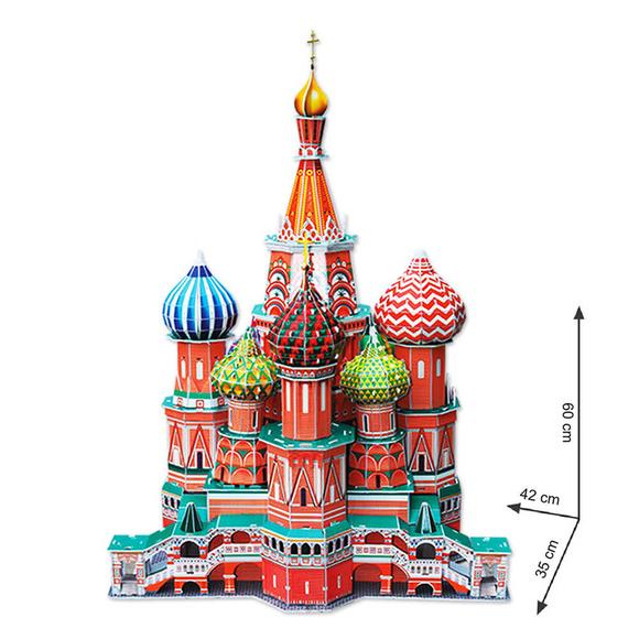 Cubic Fun 3D Puzzle Vasile Assumption Katedrali MC093