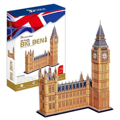 CubicFun 3D Puzzle Big Ben Saat Kulesi MCO87H - Thumbnail