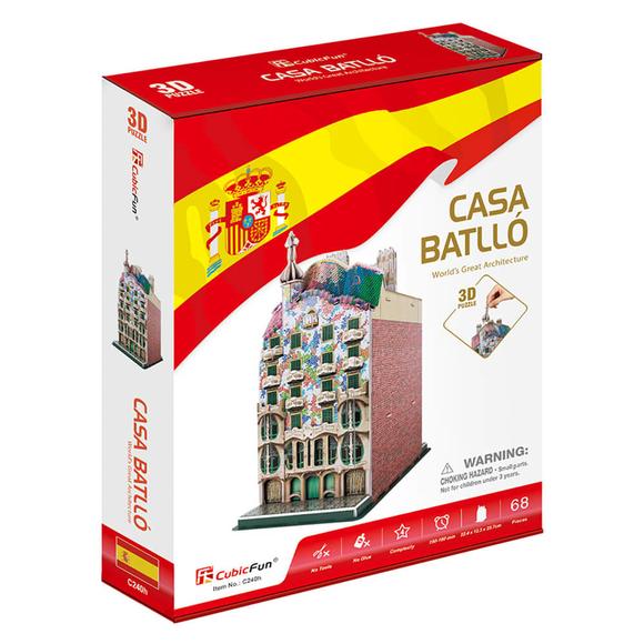 CubicFun 3D Puzzle Casa Batllo Binası İspanya C240H