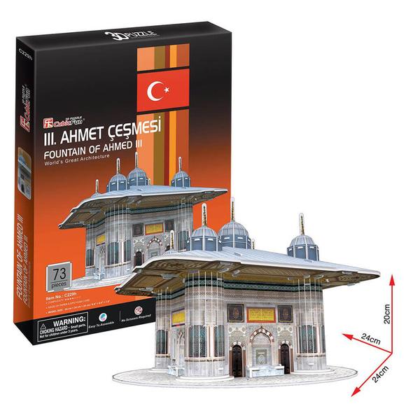 CubicFun 3D Puzzle III. Ahmet Çeşmesi C229H