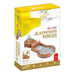 CubicFun 3D Puzzle St. Peter's Basilica Vatikan İtalya - Thumbnail