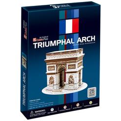 CubicFun 3D Puzzle Trıumphal Arch Fransa C045H - Thumbnail