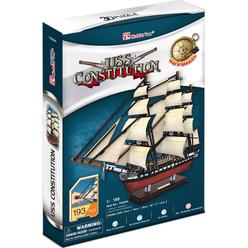 CubicFun 3D Puzzle Uss Constitution Gemisi T4024H - Thumbnail