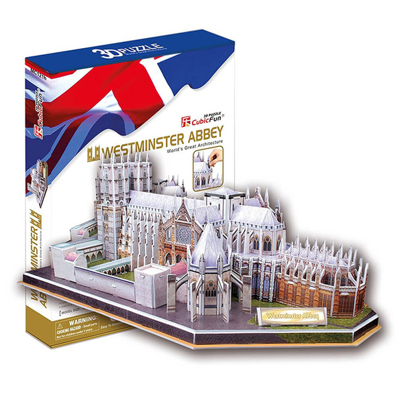 CubicFun 3D Puzzle Westminster Manastırı MC121H