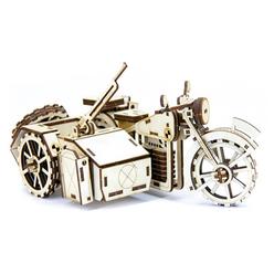 D3D Ahşap Puzzle Bmw R75 Motorcycle - Thumbnail