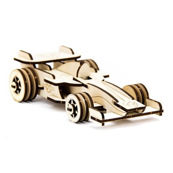 D3D Ahşap Puzzle Formula 1