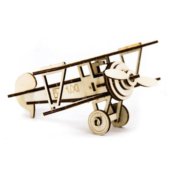 D3D Ahşap Puzzle Nieuport Aircraft