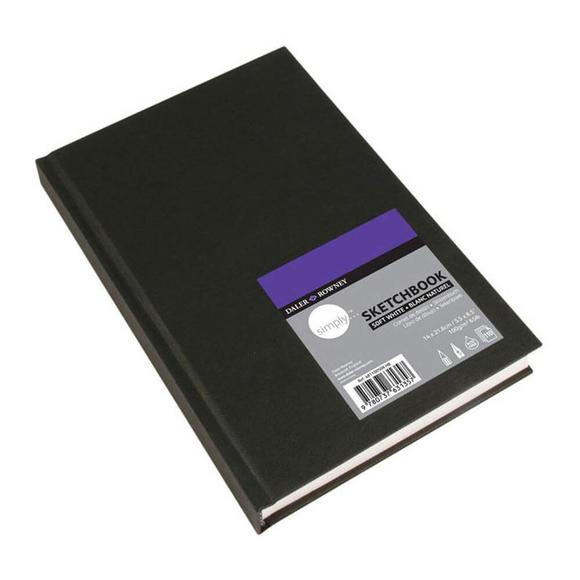 Daler Rowney Simply A5 Sert Kapaklı Eskiz Defteri 110 Yaprak 100 gr DR481100508
